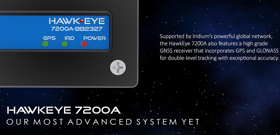 satcom tracking system he7200a 3