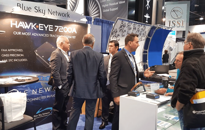 Blue Sky Network at NBAA 2