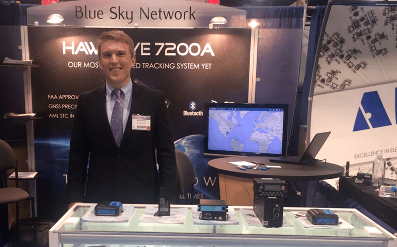 Blue Sky Network at NBAA 4