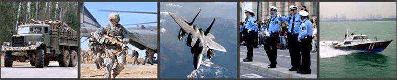 military satellite tracking system