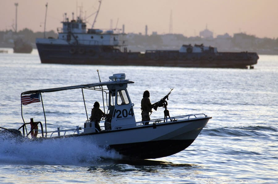 Harbor Security Boat