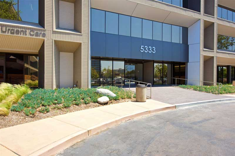 image of exterior of office building