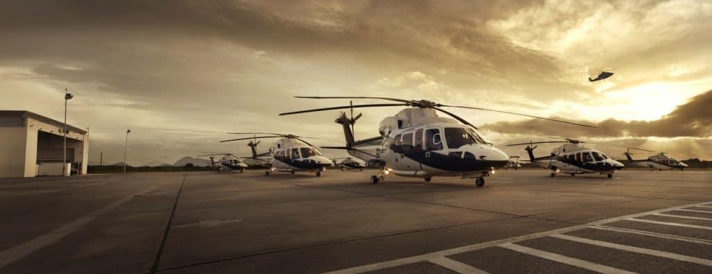 Fleet of Helicopters
