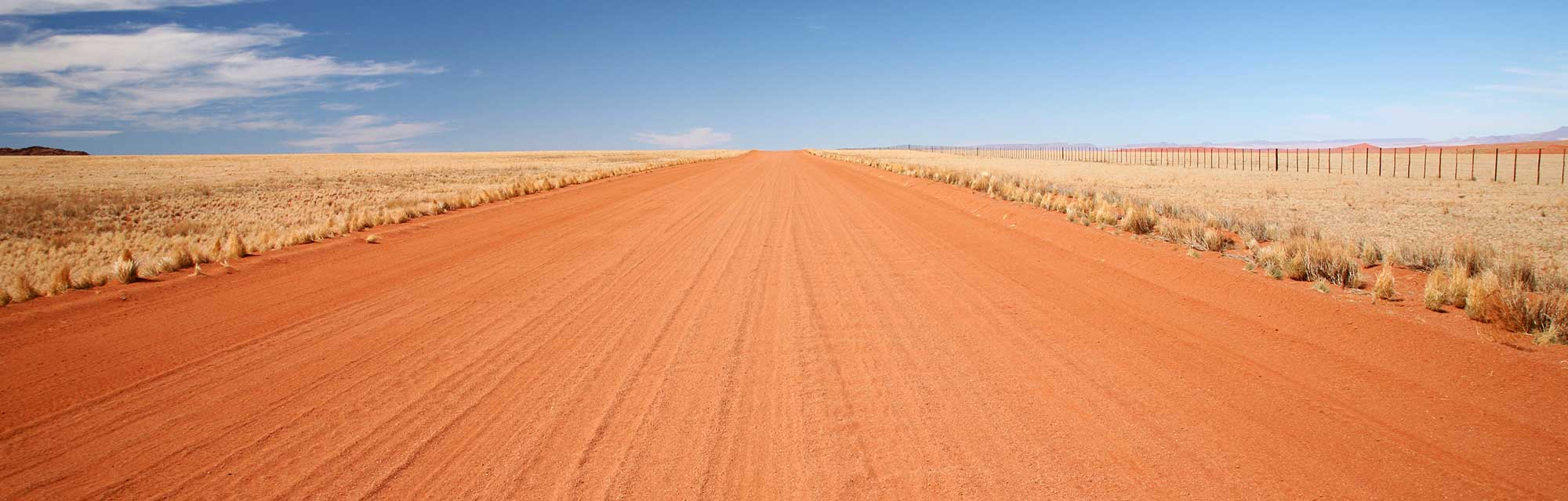 open dirt road needs vehicle tracking