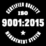 ISO 9001:2015 Certified Logo