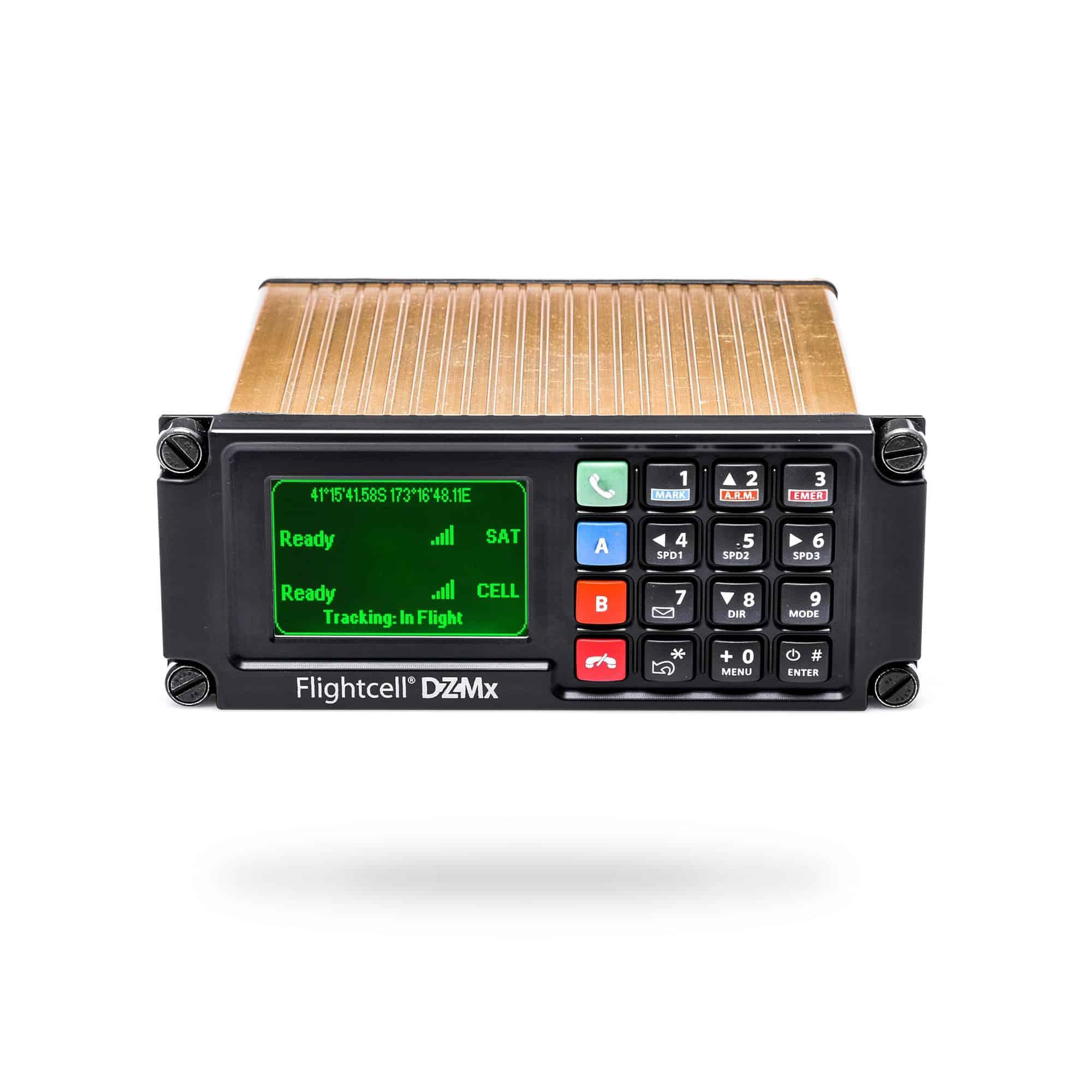 Flightcell DZMx Military Tracking Device PTT