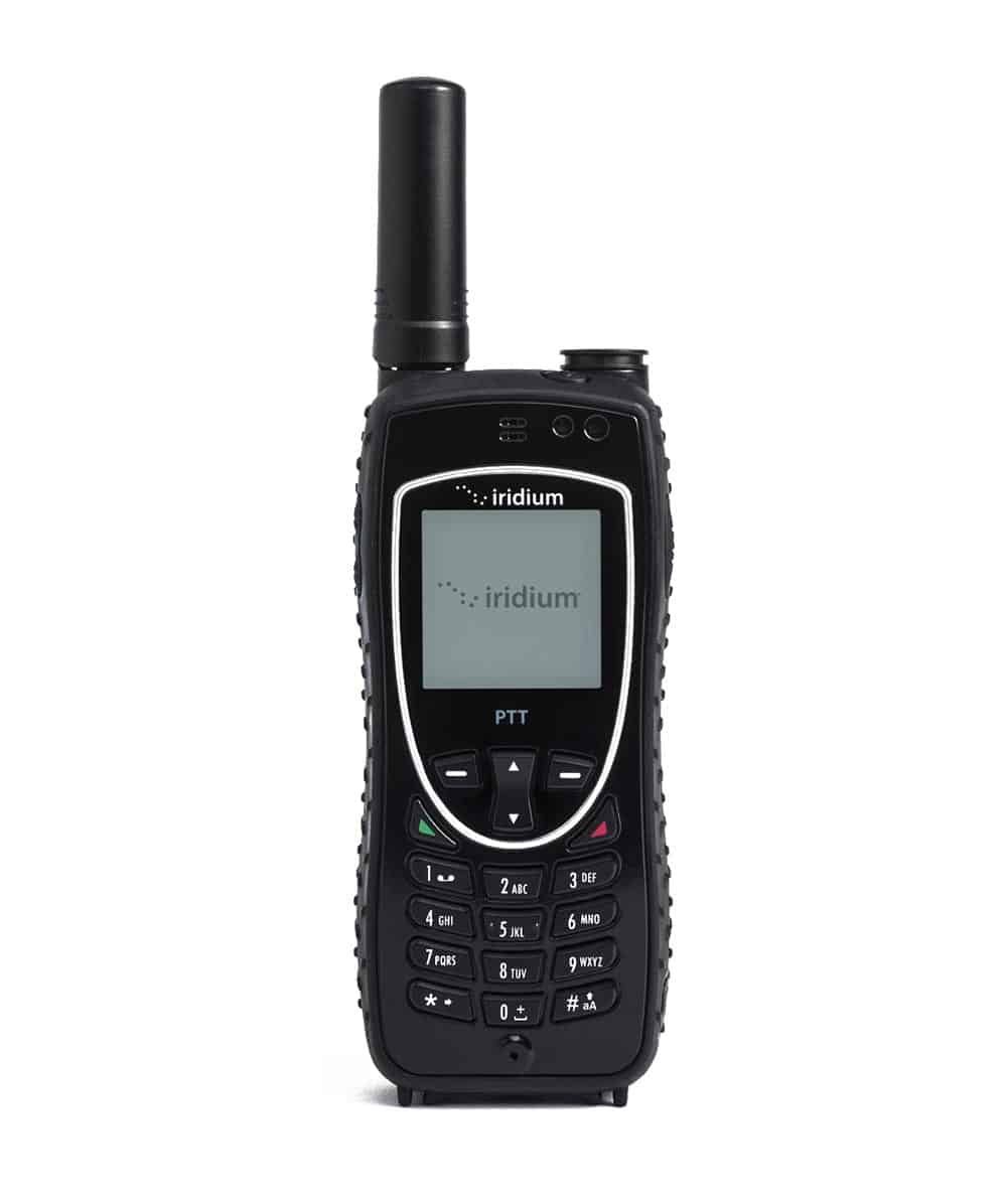 Iridium Push to Talk (PTT) Satellite Phone