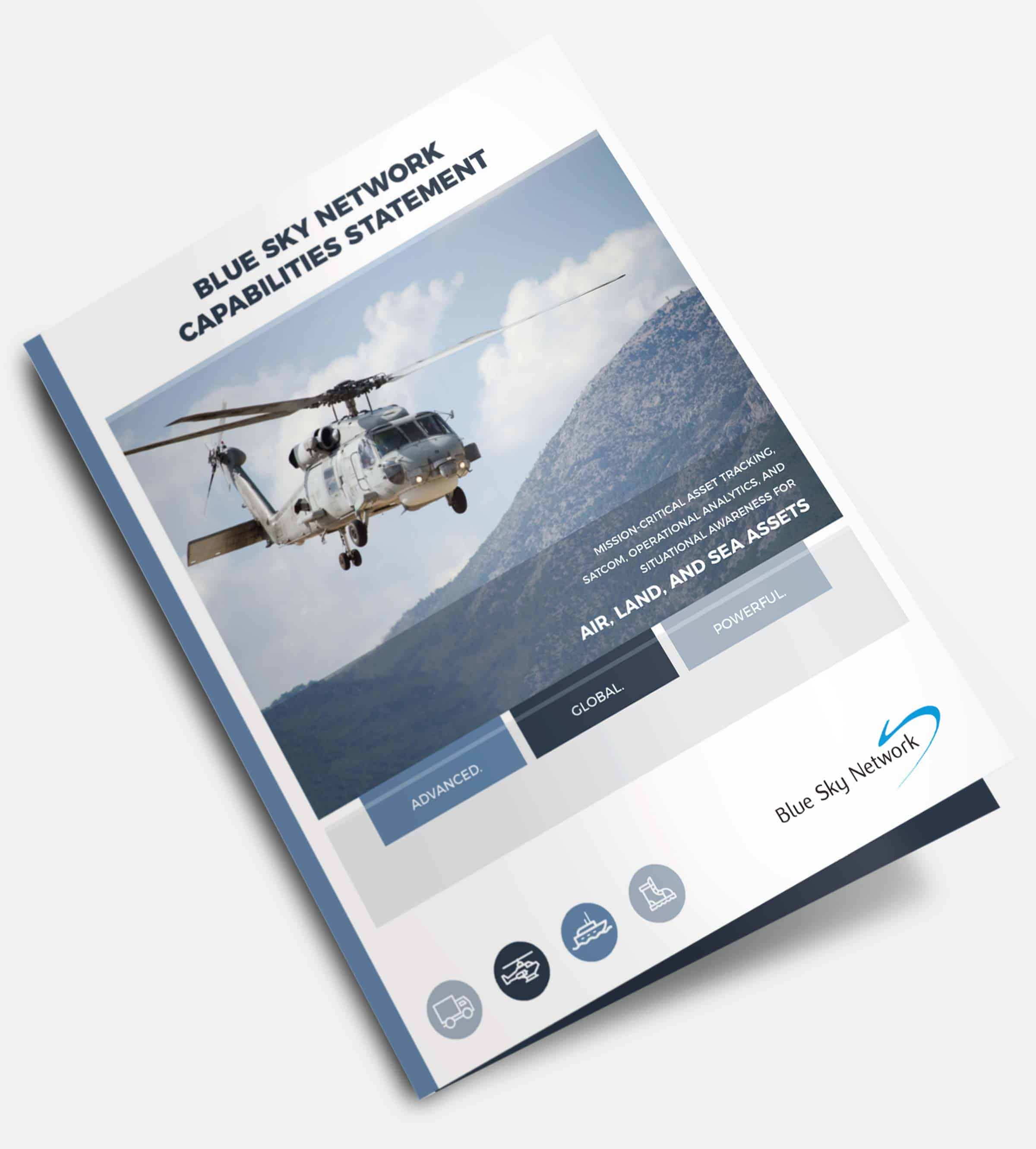 military communication brochure blue force tracker brochure