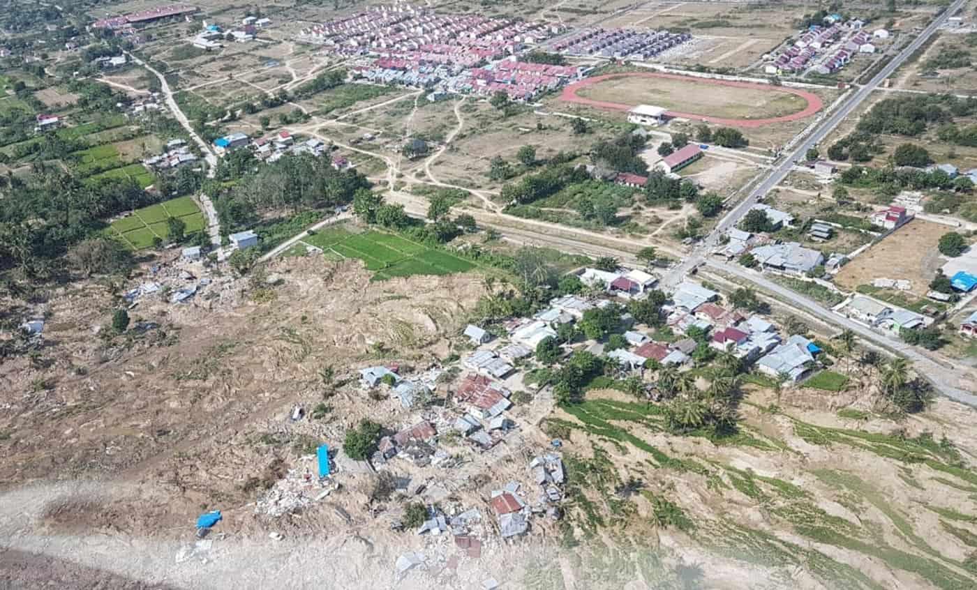 aftermath of indonesian tsunami