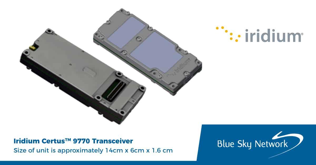 Iridium Certus 9770 Transceiver
