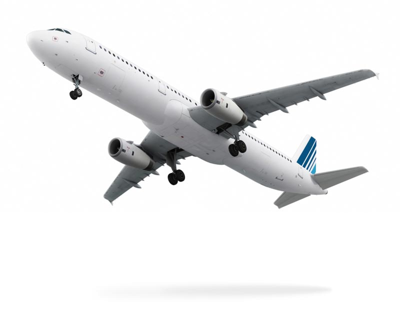 Airliner with ADT Tracking
