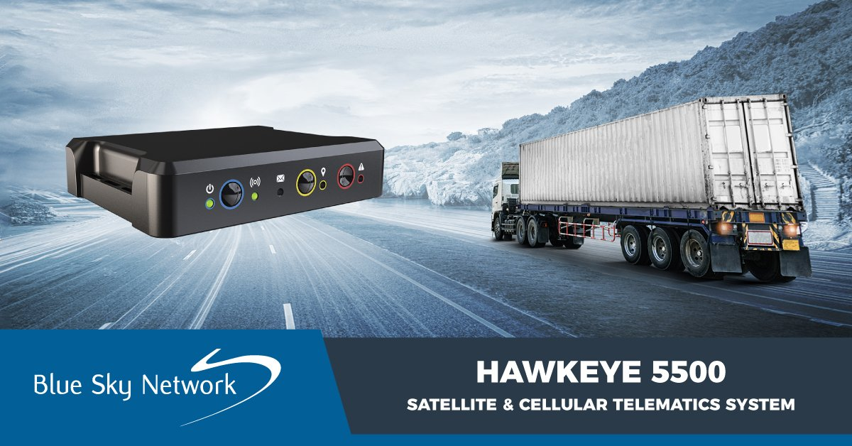 HawkEye 5500 Satellite and Cellular Telematics System