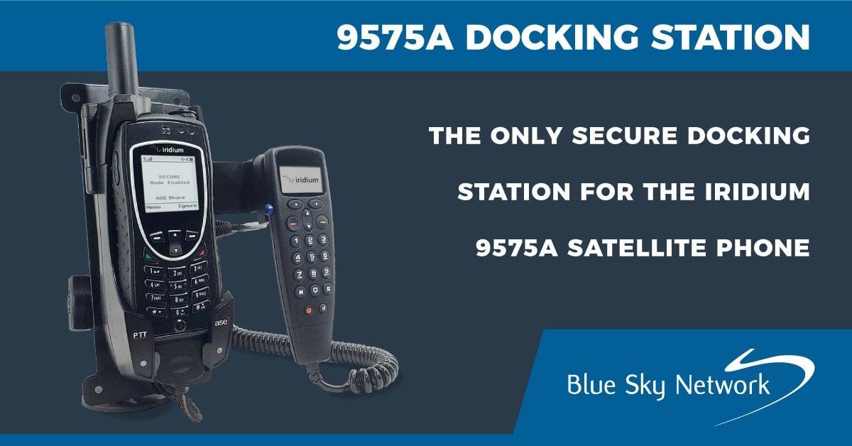 Iridium 9575A Docking Station