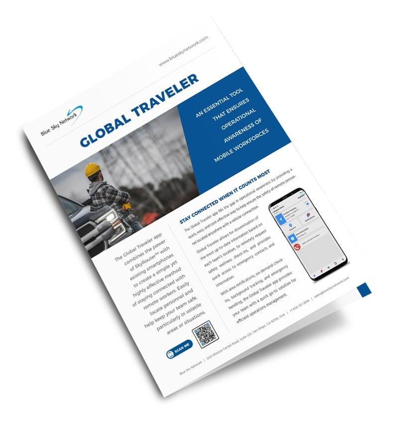 Global Traveler App Brochure