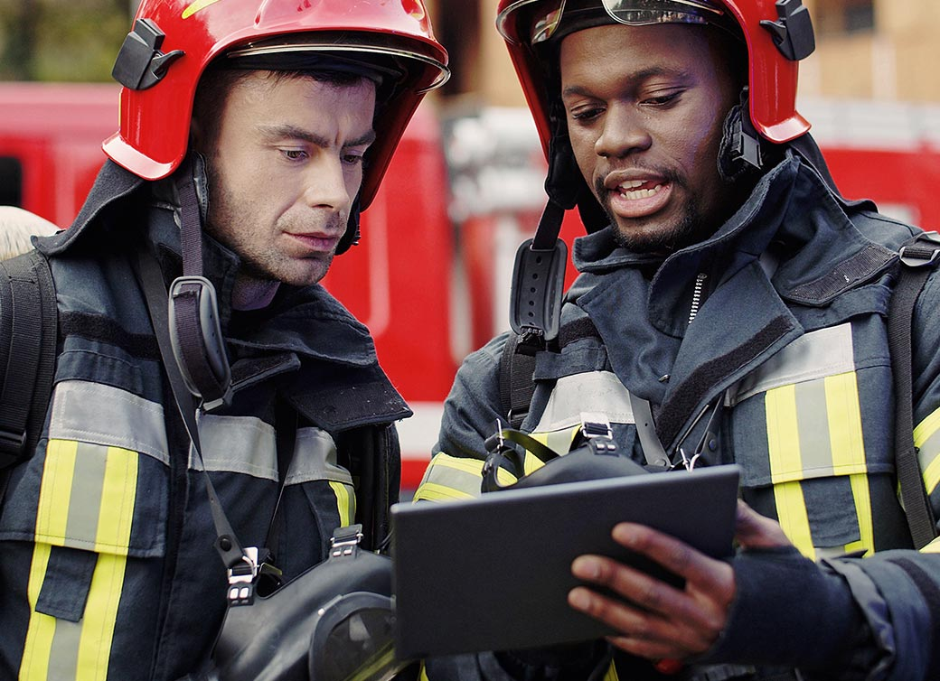 IoT M2M For Firefighters