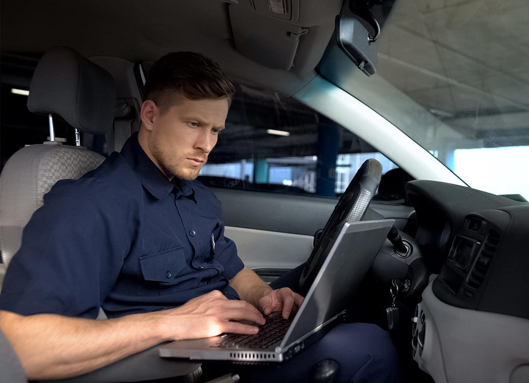 IoT M2M For Police