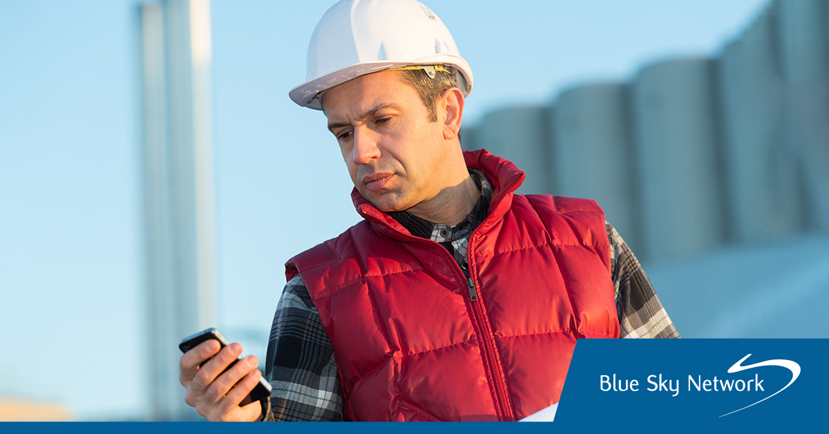 Remote Worker Using Global Traveler App